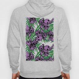 Orchid Skulls Hoody
