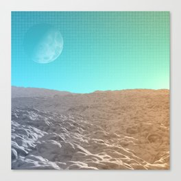 Daylight In The Desert Canvas Print