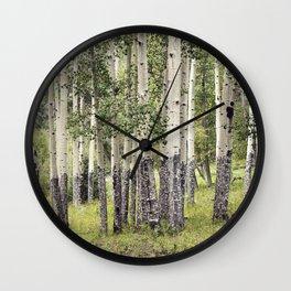 Aspen Stand Wall Clock