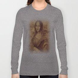 mona lisa Long Sleeve T-shirt
