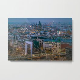 Evening view Metal Print