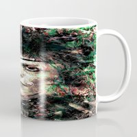 david bowie Mugs featuring BOWIE by Vonis