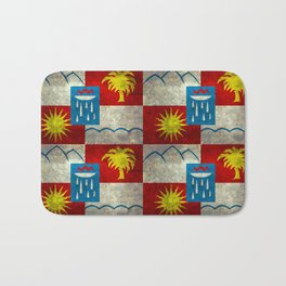 Sochi flag - Vintage version Bath Mat