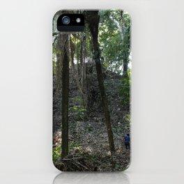 Mayan Mountain iPhone Case
