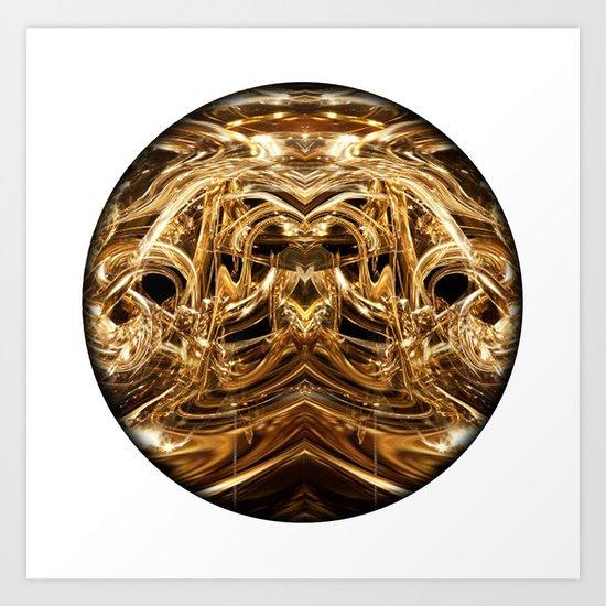 oro tre Art Print