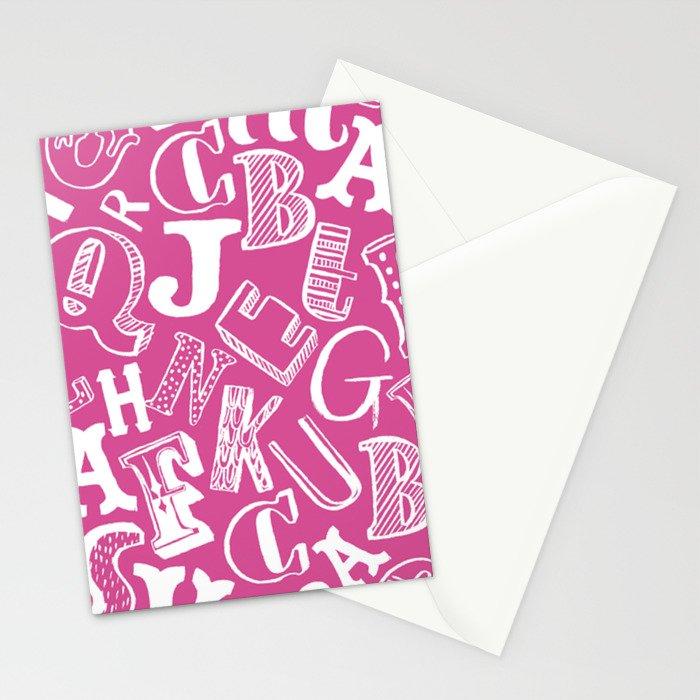 A-Z Stationery Cards