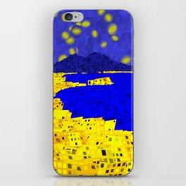 Golden Naples iPhone Skin
