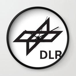 German Aerospace Center (DLR) Log Wall Clock