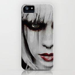 Lyric Portrait iPhone Case