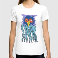 cthulu T-shirts featuring the owl of cthulu by ronnie mcneil