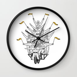 This Is How We Roll Wall Clock