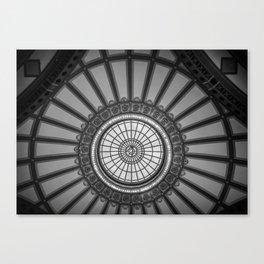 The Choo Choo Dome Returnes Canvas Print