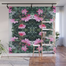 Candy Coated Roses Wall Mural