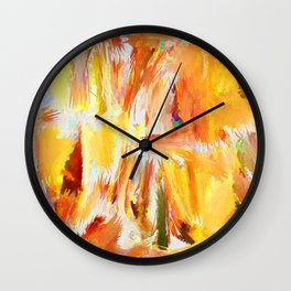 Design - Splash of Color Wall Clock