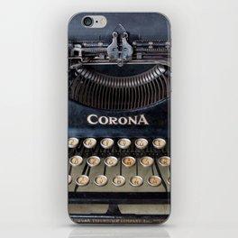 Corona Typewriter iPhone Skin
