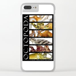 Octopus of the World Clear iPhone Case