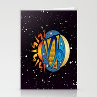 astrology Stationery Cards featuring Astrology, Capricorn by Karl-Heinz Lüpke