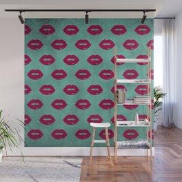 LIPS Wall Mural