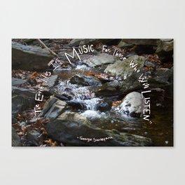 Nature's Music Canvas Print