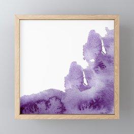 Summer in the provence - lavender fields Framed Mini Art Print