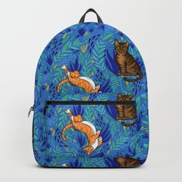 Cats in the Garden Backpack