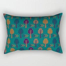 Trees and arrows Rectangular Pillow