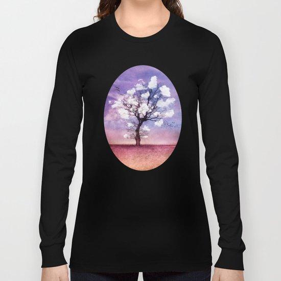 ATMOSPHERIC TREE - Pick me a cloud II Long Sleeve T-shirt