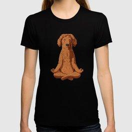 Yoga Golden Doodle T-shirt