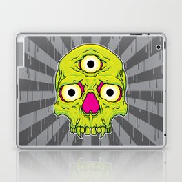 3 Eyed Jackass (green) Laptop & iPad Skin