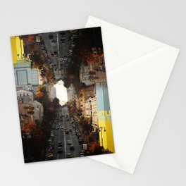 One Way Out (Series: 'empty city full of lonely people') Stationery Cards