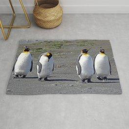 King Penguins Rug