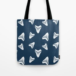 Sharks Tooth Pattern Tote Bag