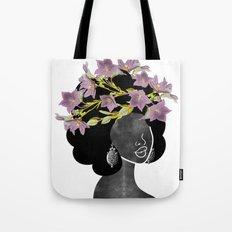 Wildflower Crown II Tote Bag