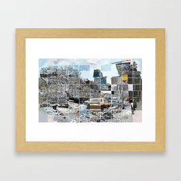 Essex Street with Bar Framed Art Print