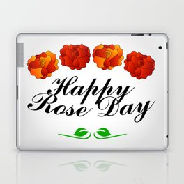 Happy Rose day february 7th- valentine month Laptop & iPad Skin