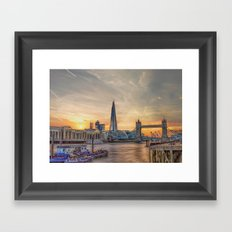 London Summer time Framed Art Print
