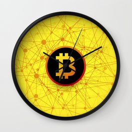bitcoin Wall Clock