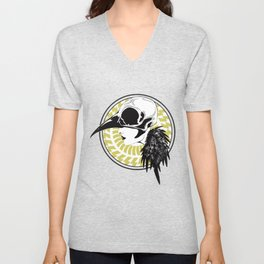 Bird girl Unisex V-Neck