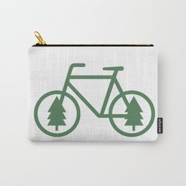 Pacific Northwest Cycling - Bike, Bicycle, Portland, PDX, Seattle, Washington, Oregon, Portlandia Carry-All Pouch