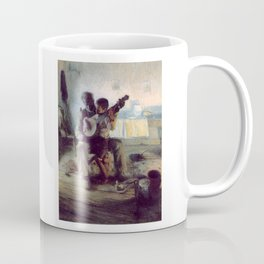 The Banjo Lesson by Henry Ossawa Tanner Coffee Mug