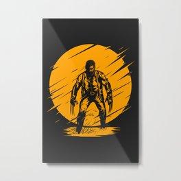Yellow Logan Metal Print