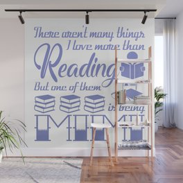 Reading Mimi Wall Mural