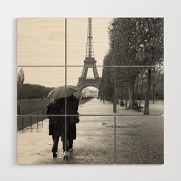 Paris Amour Wood Wall Art