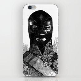 Wrestling mask 1 iPhone Skin