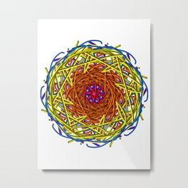 Nested Acolyte Metal Print
