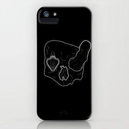Death Head Sex Head iPhone Case