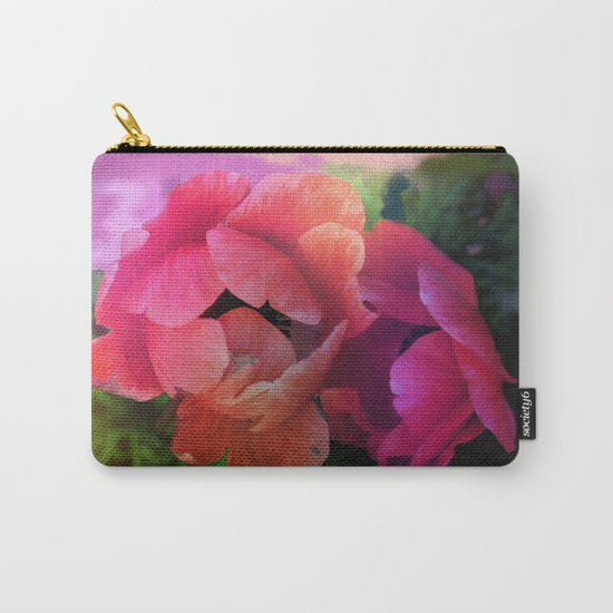 Summer garden with Anemones Carry-All Pouch