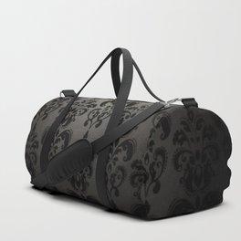 Sophisticated Black Pattern Duffle Bag