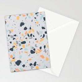 Vibrant Terrazzo Digital Pattern Stationery Cards