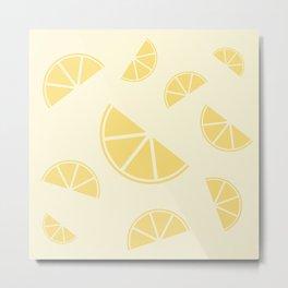 Fruity Lemon Splice Metal Print